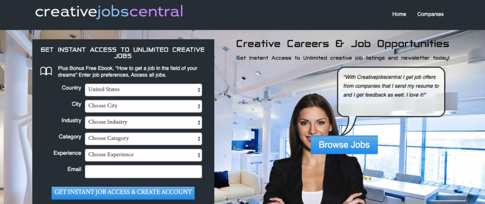 copywriting jobs - creative jobs central