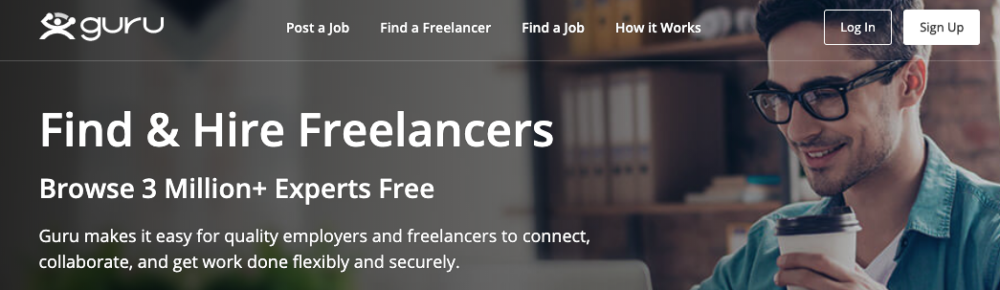 freelance coding jobs sites - guru