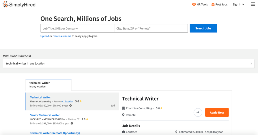 technical writer jobs - simplyhired