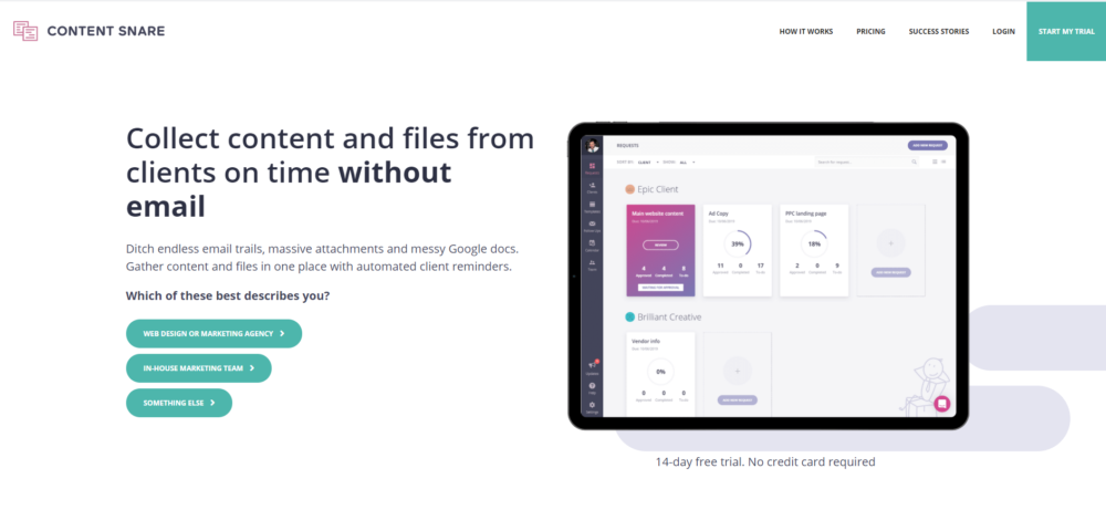 freelance automation tools - content snare