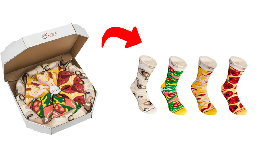 Pizza Socks for CLients