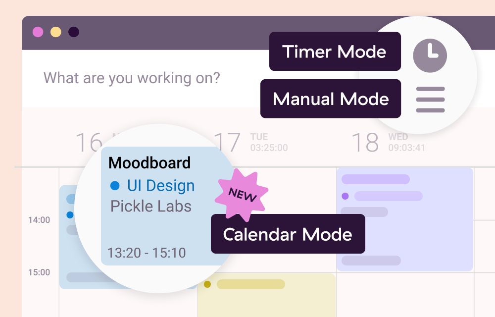 time management for creatives - toggl