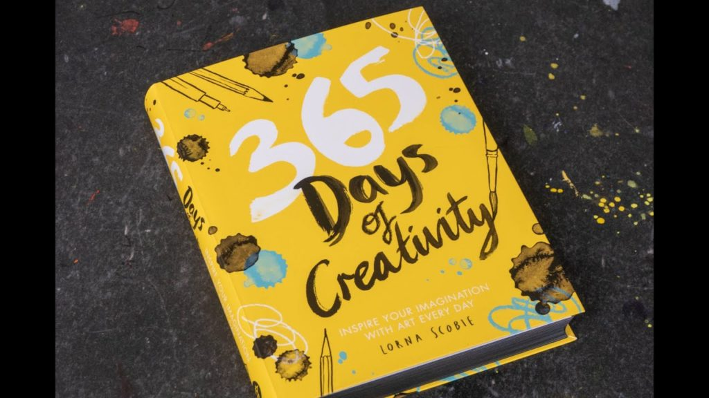 365 days of creativity book as a gift