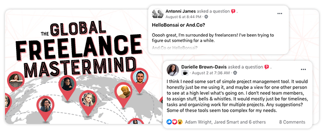 Global Freelance Mastermind by Millo