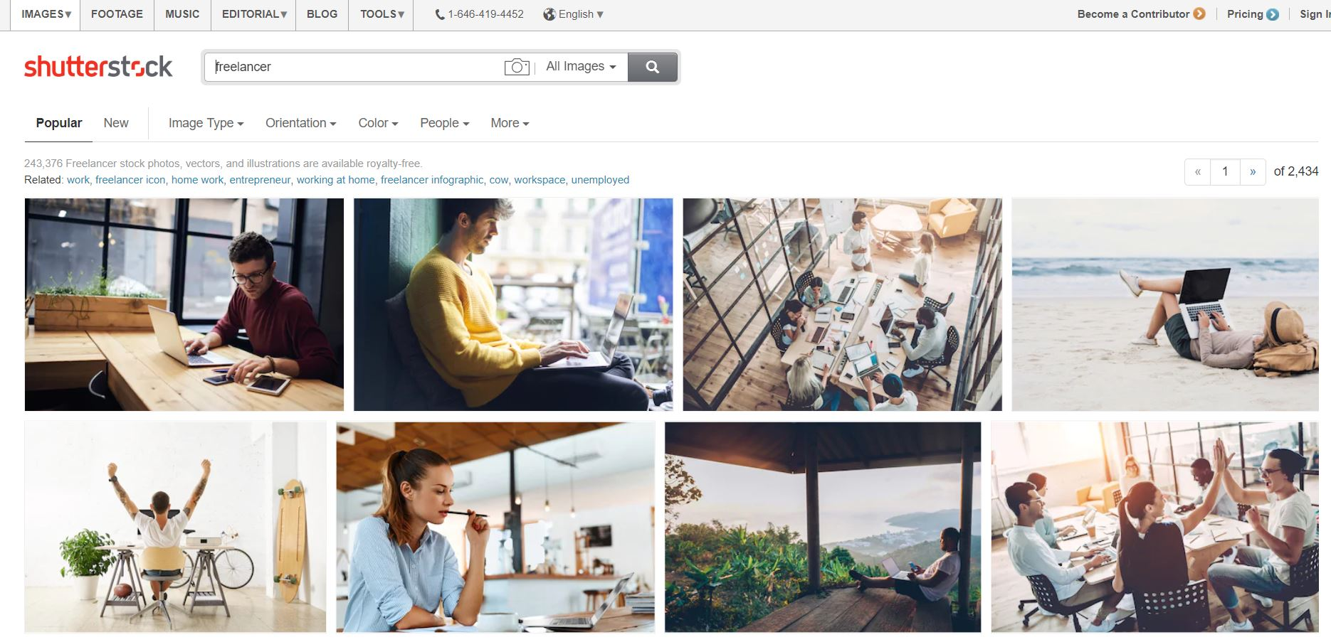 Tools for freelancers - shutterstock
